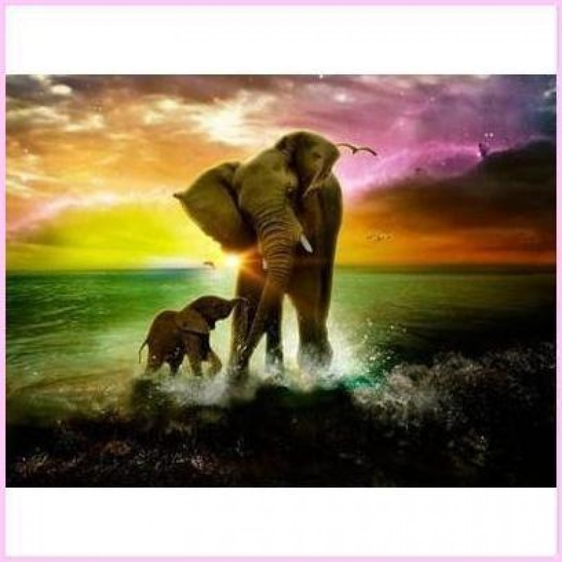 Elephant Mother and ...
