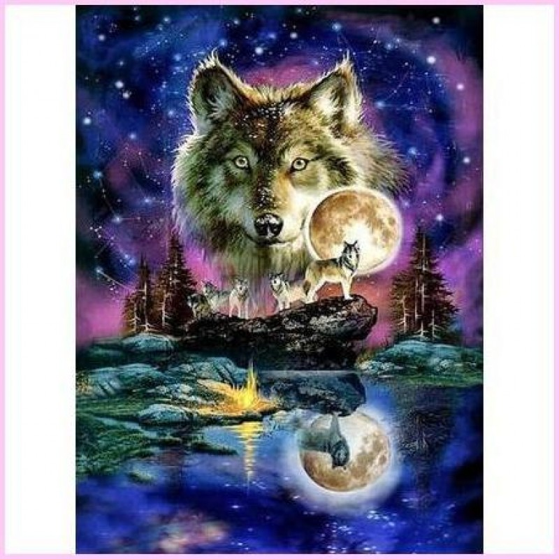 Astrological Wolf Pa...